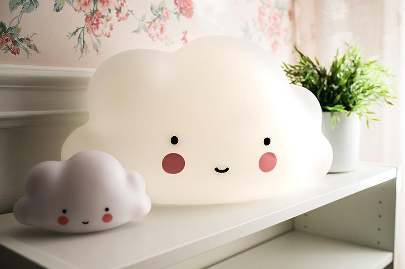 wolkenlampe babyzimmer