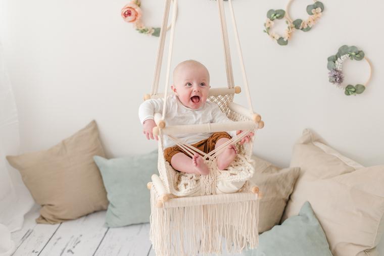 Babyfotos zu Hause 1