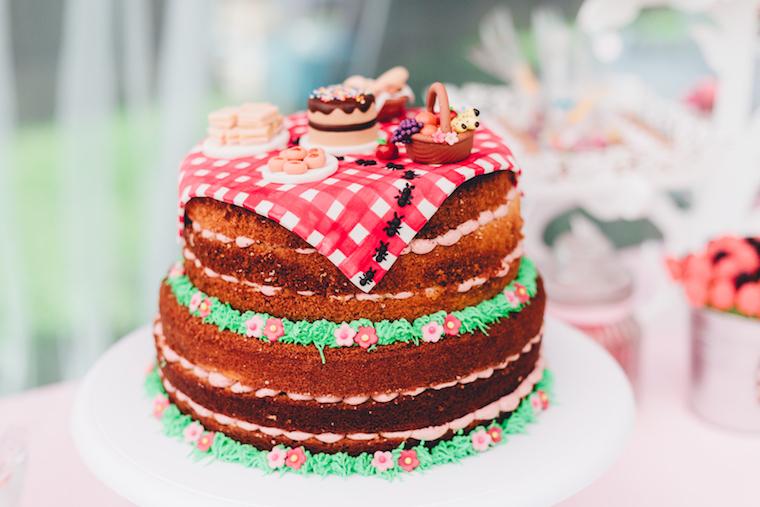 Kindergeburtstag Maedchen Torte