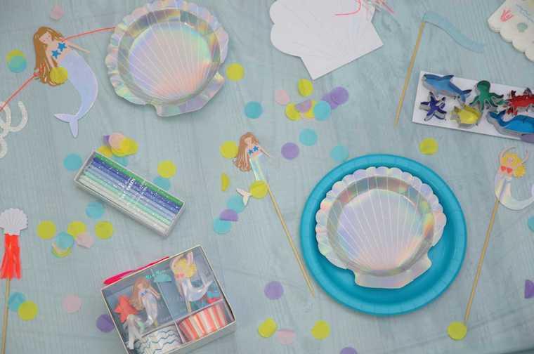 Kindergeburtstag Meerjungfrau 8