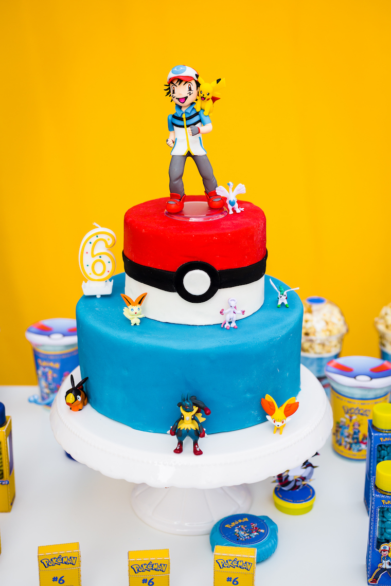 Kindergeburtstag Pokemon 4