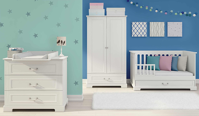 m bel f r das babyzimmer. Black Bedroom Furniture Sets. Home Design Ideas