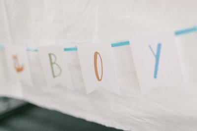 Babyparty im Boho-Look