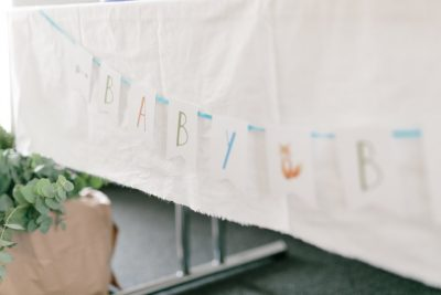 Babyparty im Boho-Look