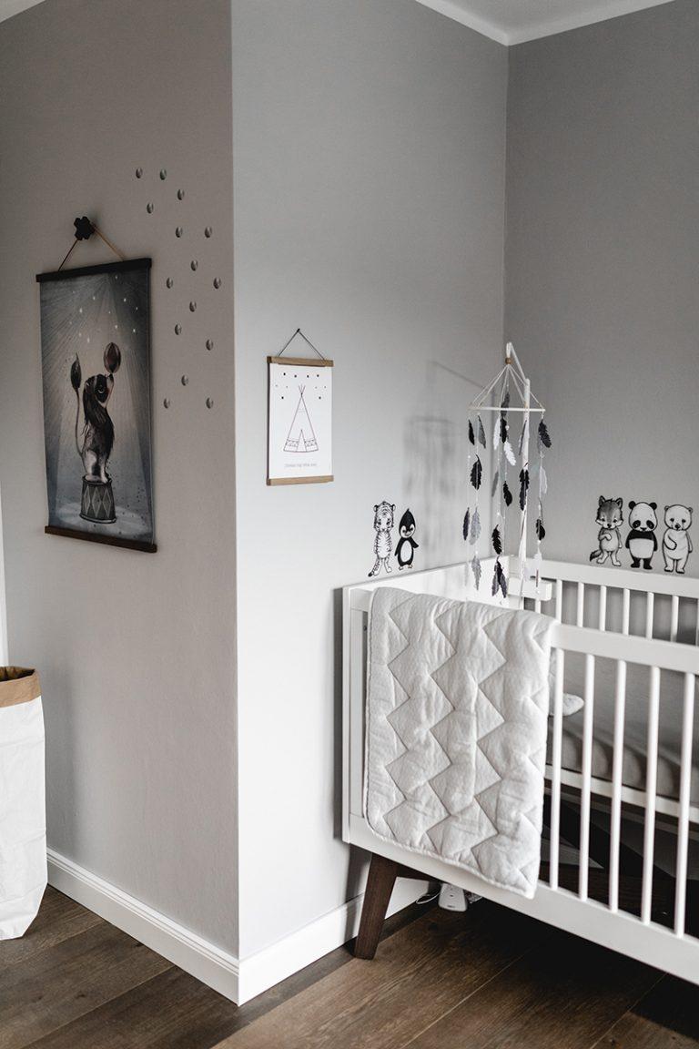 Babyzimmer im skandinavischen Stil | mummyandmini.com
