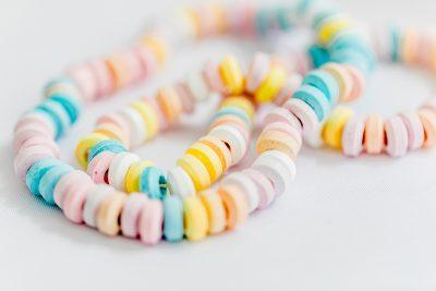 Candybar für einen Kindergeburtstag