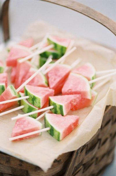 Wassermelonen-Snacks für den Sommer