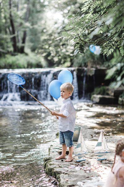 Kindergeburtstag am Wasser
