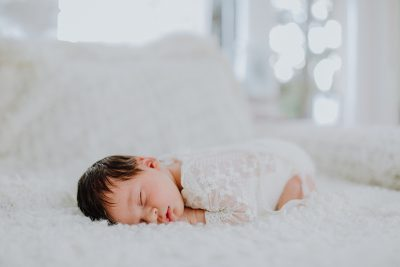 Zuhause bei Baby Mila
