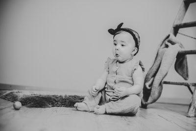Babybilder im Fotostudio