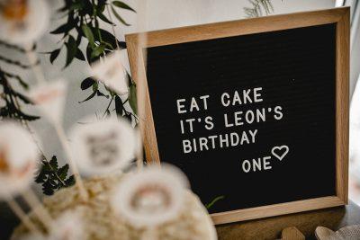 Leons erster Geburtstag