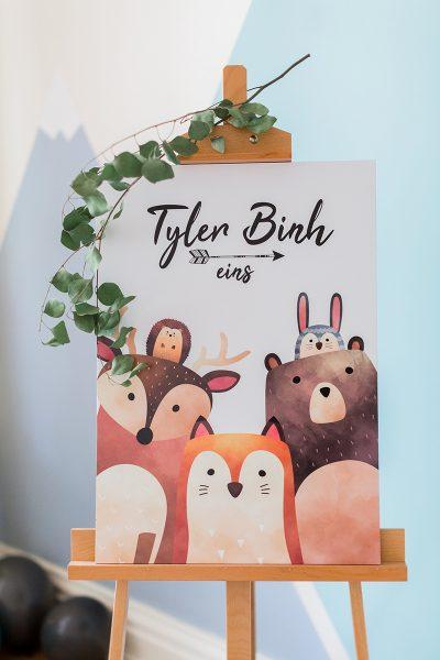 Tylers erster Geburtstag