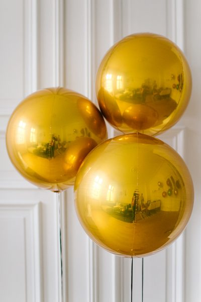 Kugelballon Gold Metallic