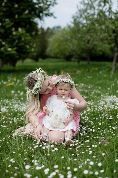 Sommerliche Mami & Tochter Bilder