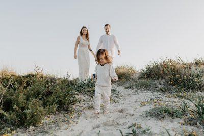 Familienfotos in Mallorca am Strand