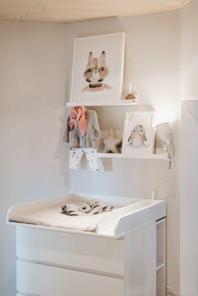Babyzimmer in Naturfarben