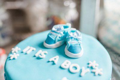 Süße Babyparty für einen Jungen