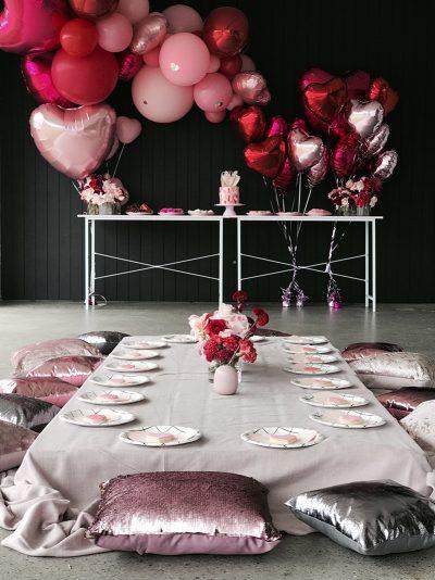 Süßer vierter Geburtstag