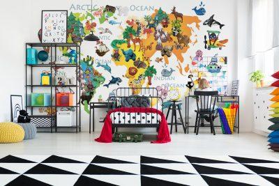 Fototapeten für das Kinderzimmer