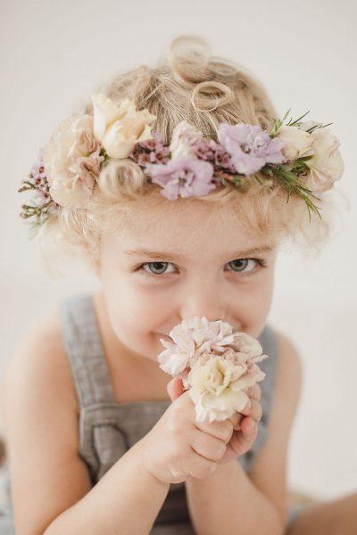 Mini-Monday: Frida mit Blumenkranz