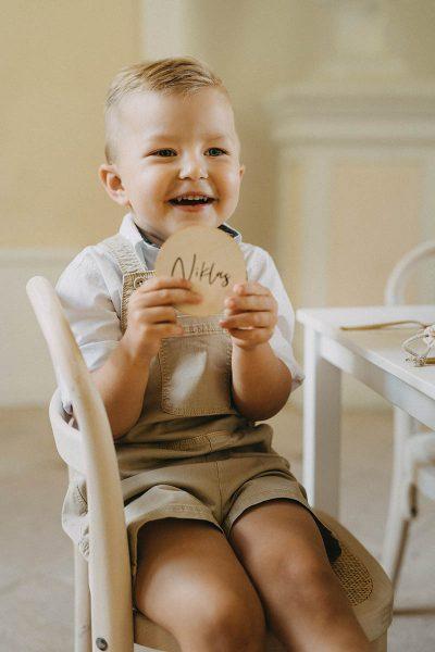 Natürliche Deko für den Kindergeburtstag