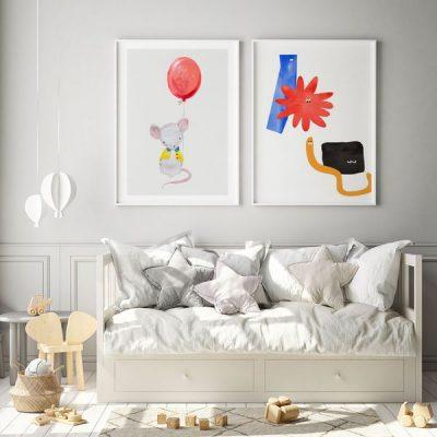 Poster für das Kinderzimmer