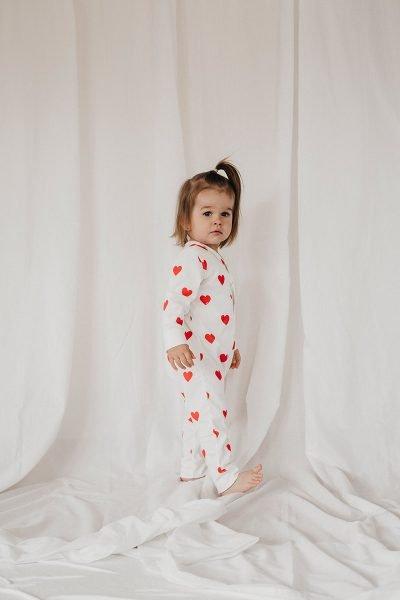 Heart to heart: Mutter-Tochter-Partnerlook