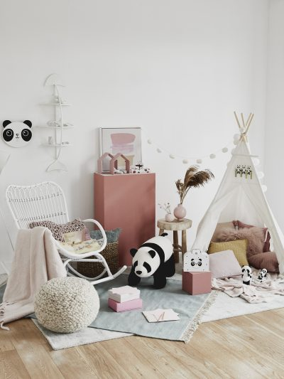 Pretty in Pink: Kinderzimmer für Mädchen